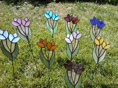Ordinaire Thanks Again To Everyone Who Submit Ted These Inspirational Projects. For  Favorite Glass Garden Art ...