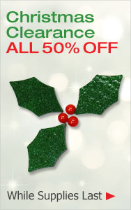 Christmas Clearance All 50% Off