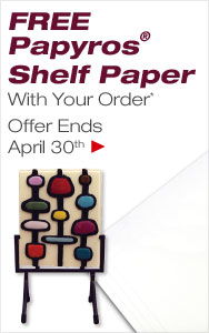 FREE Shelf Paper with Your Order