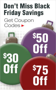 Black Friday Coupons - Up to $75 Off