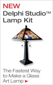 Just Add Glass - NEW Delphi Studio Lamp Kit