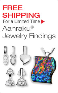 Free Shipping for a Limited Time on Aanraku Findings
