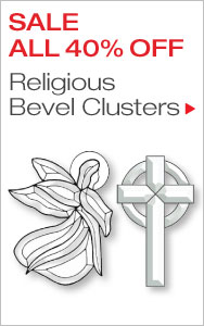Save on Religious Bevel Clusters