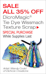 Special Purchase Dichroic Scrap - Only While Supplies Last