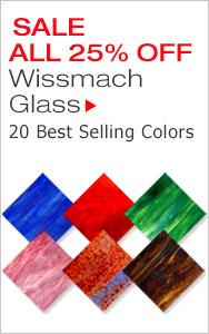 SALE 25% Off Wissmach Glass