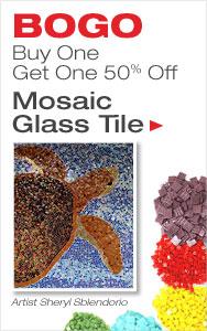 BOGO 50% Off Glass Tile