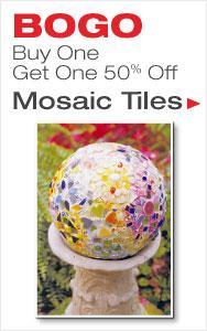 BOGO 50% Off Mosaic Tile