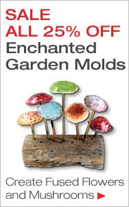 25% Off Enchanted Garden Fusing Molds