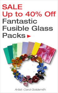 Up to 40% Off Fusible Glass Packs