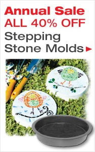 Annual Stepping Stone Molds Sale