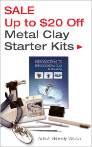 Create Custom Metal Jewelry with Metal Clay Starter Kits