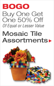 Mosaic Tile BOGO 50% Off