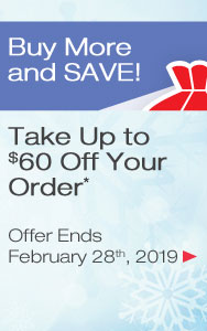 Up to $60 Off Your Order