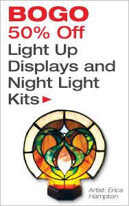 BOGO 50% Off Light Up Displays