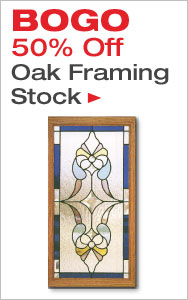 BOGO 50% Off Oak Framing