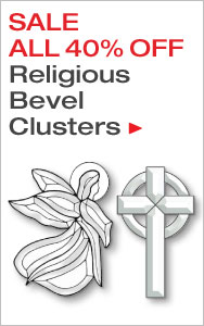 Religious Bevel Clusters Sale