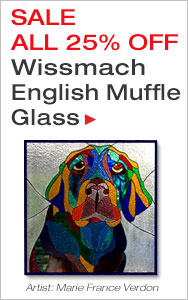 English Muffle Glass - ALL 25% OFF