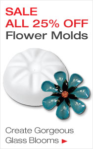 25% Off Flower Molds