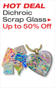 Up to Half Off Dichroic Scrap