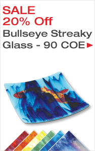 Save on Bullseye Streaky Glass
