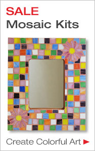 Get Started Making Mosaics - Save on Beginner Kits