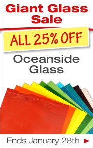 25% Off Oceanside Glass Through Monday
