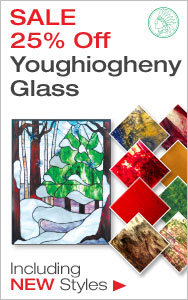 25% Off Youghiogheny Glass