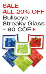 Bullseye Streaky Glass All 20% Off