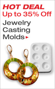 Jewelry Casting Molds Up to 35% Off