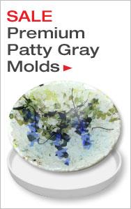 Premium Patty Gray Molds on Sale