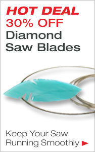 HOT DEAL 30% Off Diamond Saw Blades