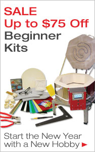 Try a New Craft - Up to $75 Off Beginner Kits