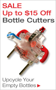 Create Upcycled Art with Savings on Bottle Cutters