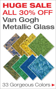 30% Off All Van Gogh Glass