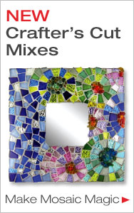 Create Mosaic Magic with NEW Crafters Cut Mixes