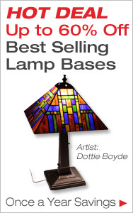 HOT DEAL Up to 60% Off Lamp Bases