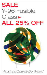 25% Off Y-96 Fusible Glass