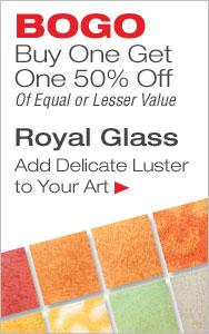 BOGO 50% Off Royal Glass
