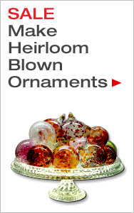 Make Blown Ornaments with Glaskolben