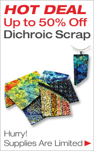 Up to 50% Off Dichroic Scrap