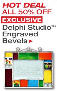 HOT DEAL 50% Off Delphi Studio Engraved Bevels