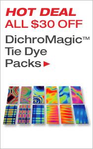 Huge Savings on Tie Dye Samplers