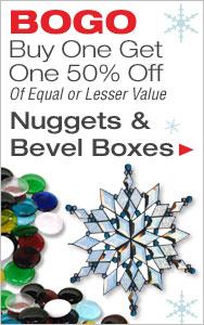 BOGO 50% Off Bevels and Nuggets