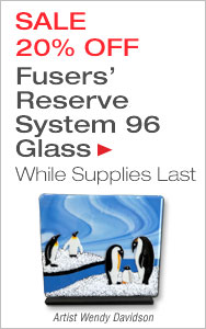 20% Off Fusers' Reserve Glass