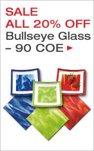 Bullseye Glass 20% Off