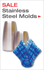 Once A Year Savings on Stainless Steel Molds