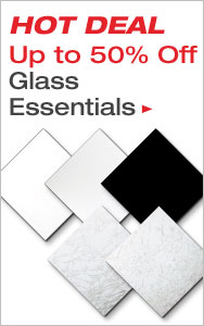 Up to 50% Off Glass Essentials for Every Artist