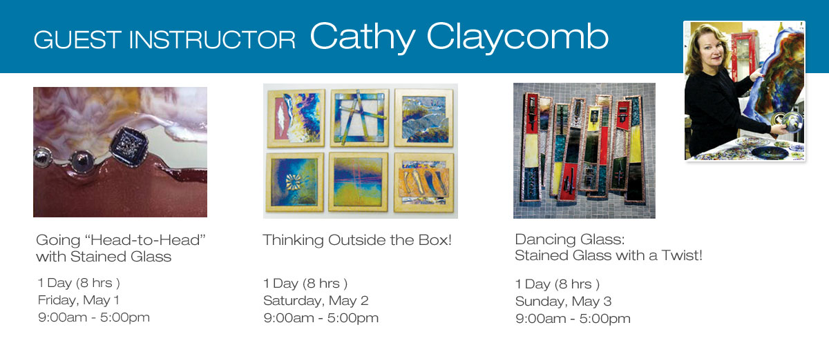 Guest Instructor Cathy Claycomb