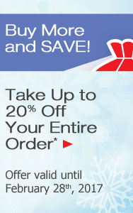 Take Up to 20% Off Your Order