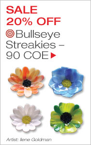 Bullseye Glass Sale